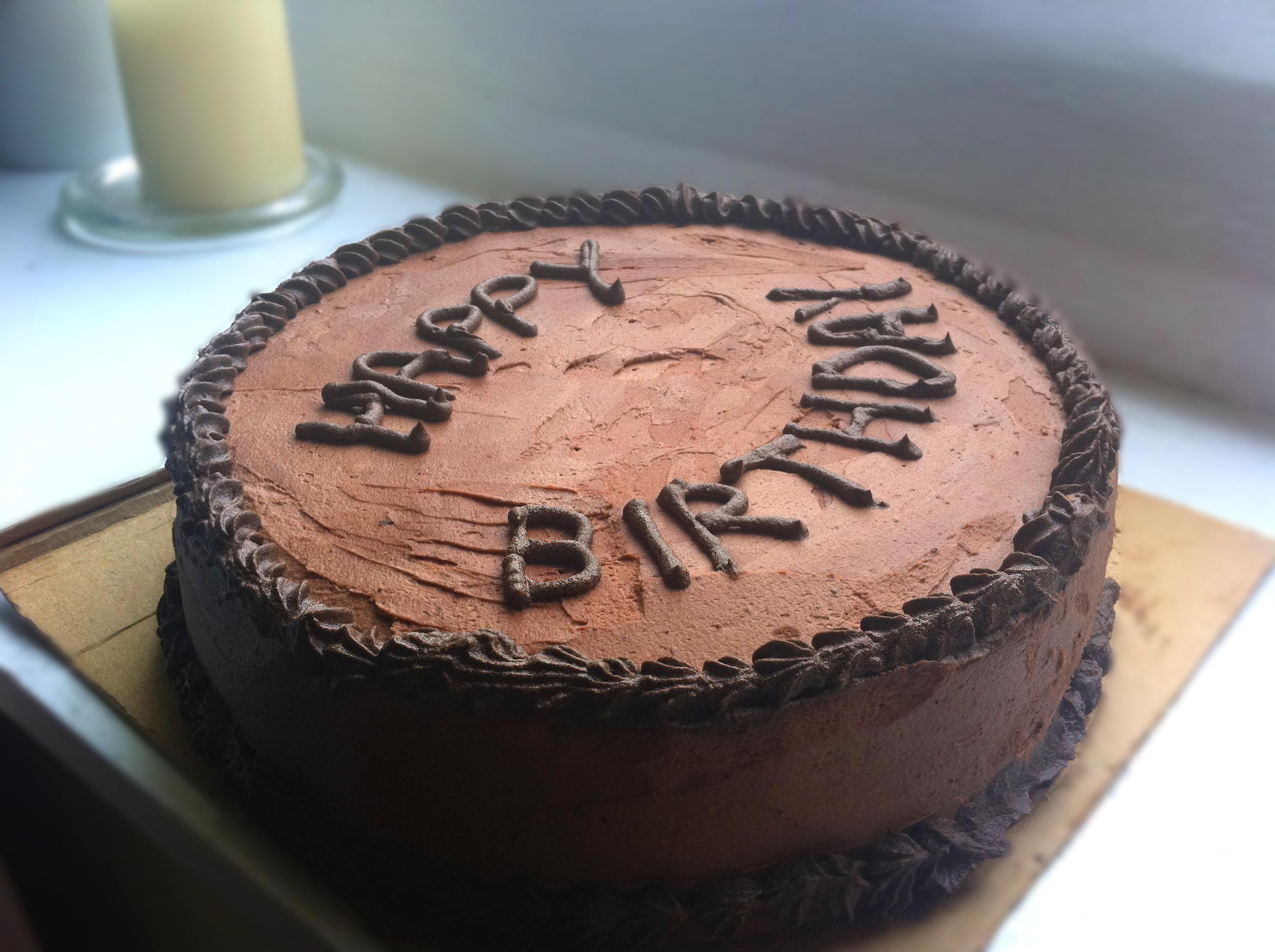 Chocolate fudge non-cupcake cake | The Bake Escape