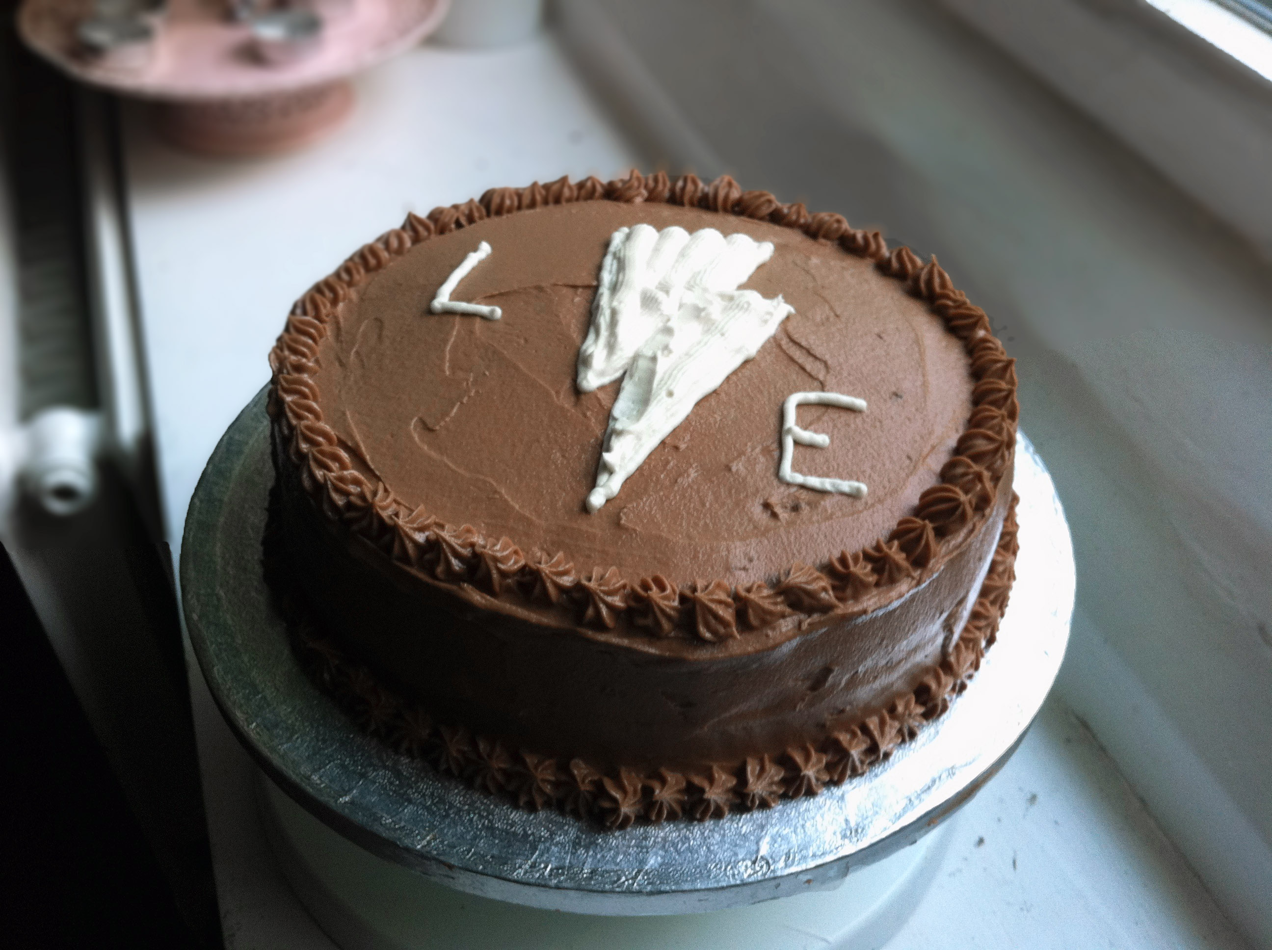 cake with brown cake baking primer devil s high devil s food cake cake ...